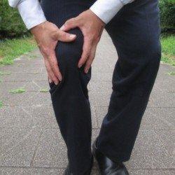 膝痛中年者